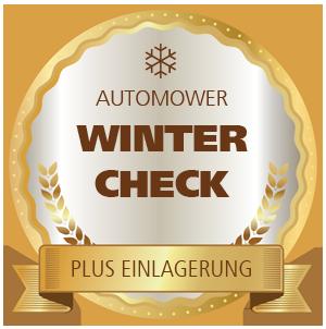 Automower-Winterservice mit Einlagerung